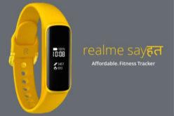 realme首款智能手环