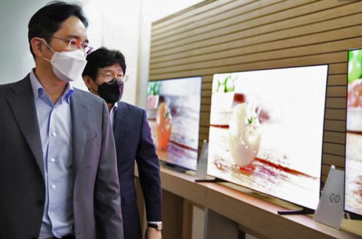 三星QD-OLED电视首张照片曝光 产品批量生产在即