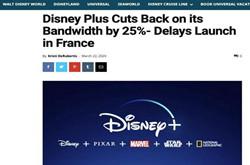 迪士尼宣布降低码