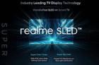 Realme在印度发布全球首款SLED 4K智能电视