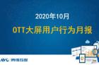 2020年10月OTT大屏用户行为报告分析