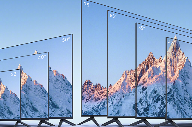 小米电视EA 2022款全系列产品阵容公布 提供7种不同尺寸