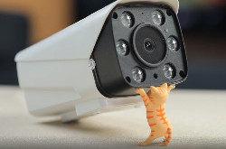 华晟HSCP21-12家用摄像头开箱:大眼睛看守更安全